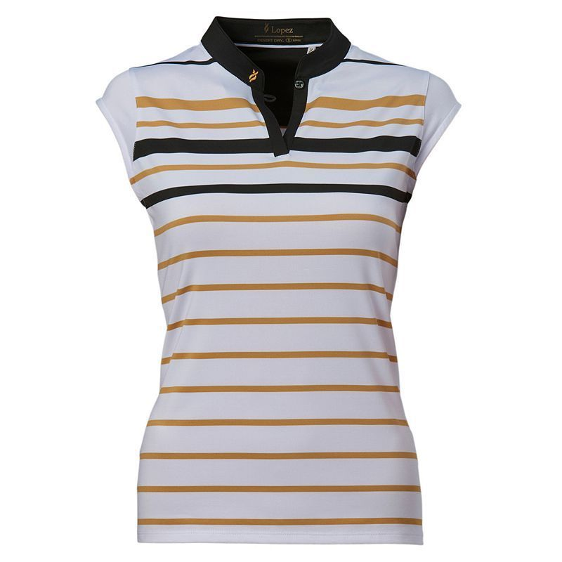 a3b0d9d21abd8 Plus Size Nancy Lopez Sense Sleeveless Golf Polo