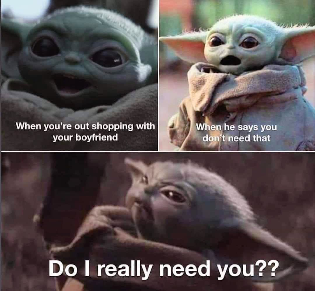 Baby Yoda On Instagram Shoo Fly Bother Me Not Not Mine
