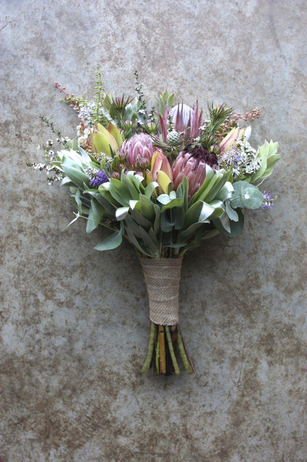 native australian bouquet summer Google Search Protea