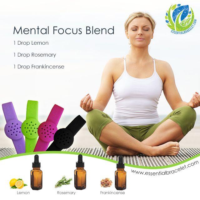 Mental Focus Essential Oil Blend Essential Oils