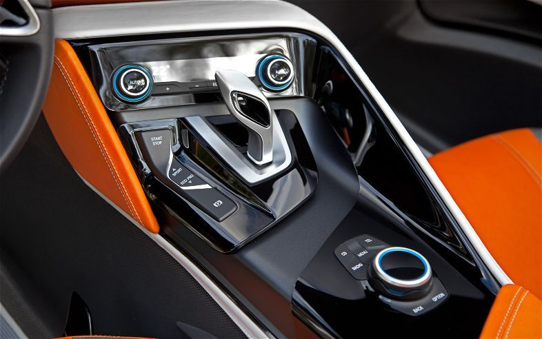 Bmw I8 Concept Spyder Center Console Dream Cars Yachts And