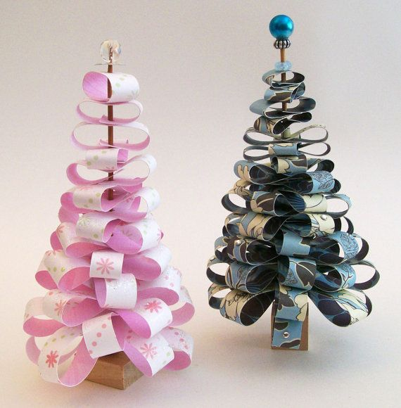 Christmas handmade paper craft decorations my favorite