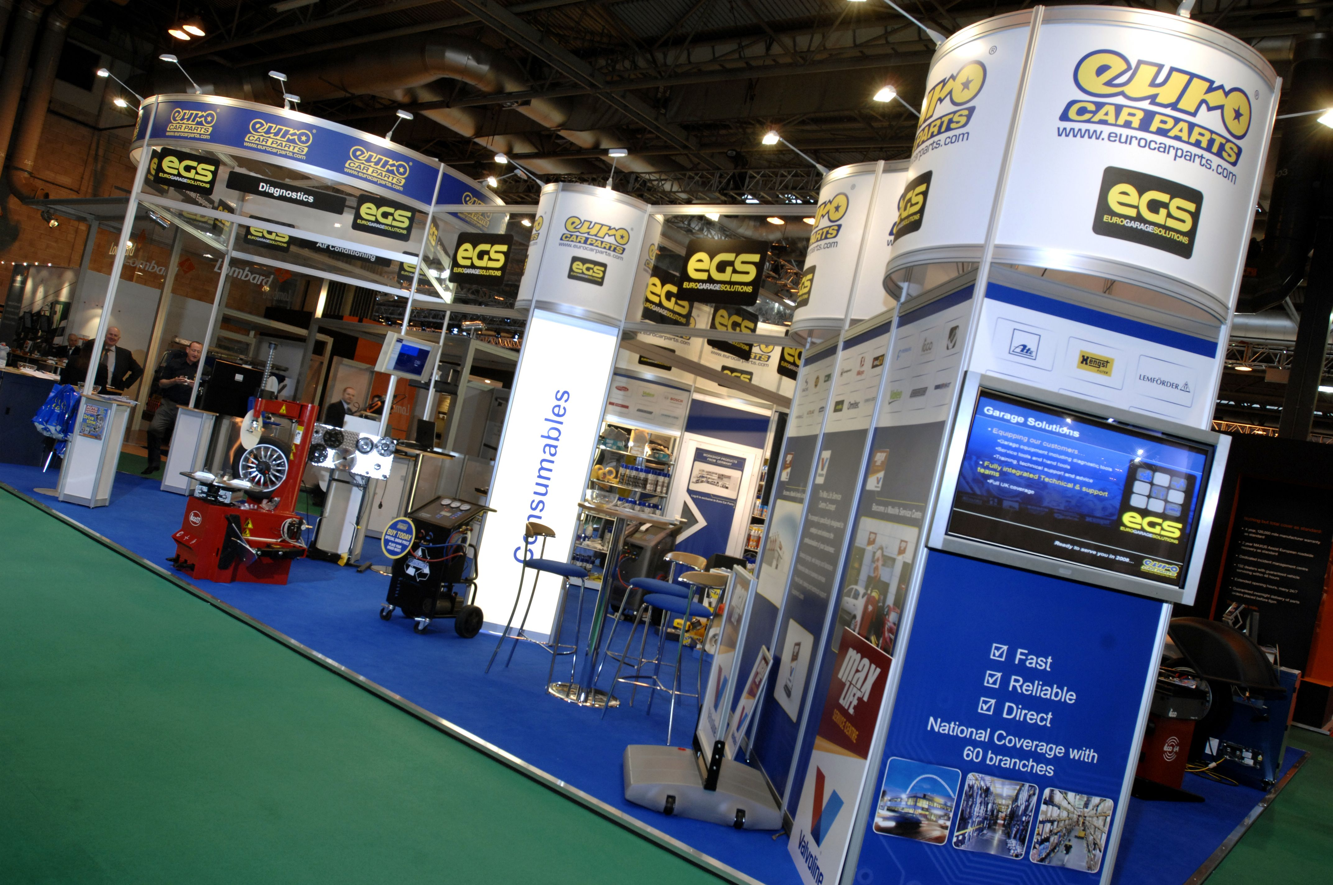 Exhibition Stand Parts : Euro car parts exhibition stand clip display exhibition