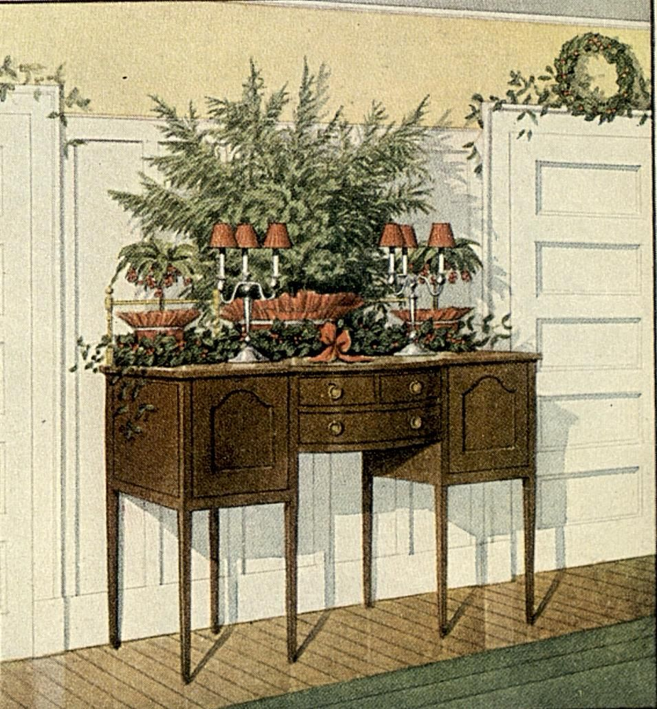 Incroyable Old Fashioned Christmas Decorating Ideas | Old Fashioned Christmas Greenery Decorating  Ideas | A
