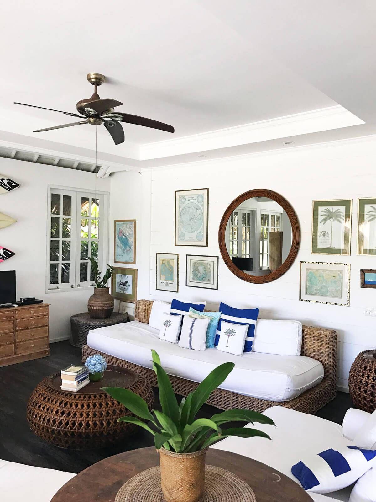 Beach Club Villa Bali We Like Bali Tropical Living Room Tropical Home Decor Tropical Houses