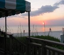 Sunset Beach Bar At The Naples Hotel Golf Club Voted Best Beachfront