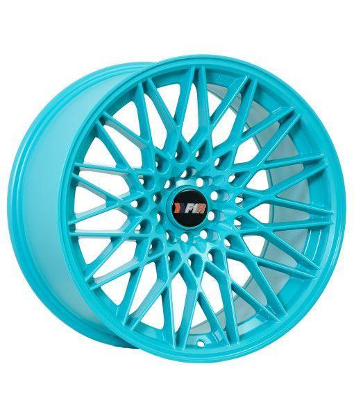 F1r F23 18x9 5 35 5x100 5x114 3 Teal Teal Wheels And Cars