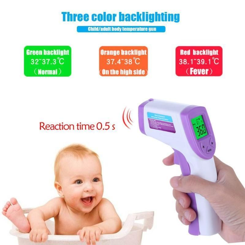 heacker Portable Glass Body Thermometer Travel Home Hospital Body Temperature Meter Gauge Measuring Tool
