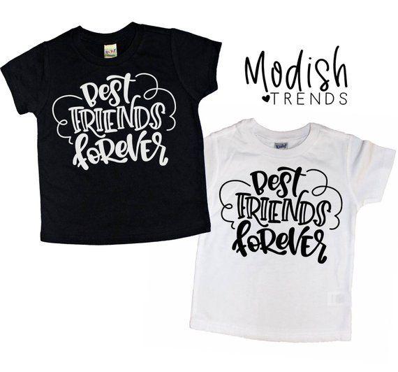 b2f9a8fc6 Best Friends Shirt - Brothers Shirt - Sisters Shirt - Besties Shirt - Baby  Tshirt - Toddler Tshirt -