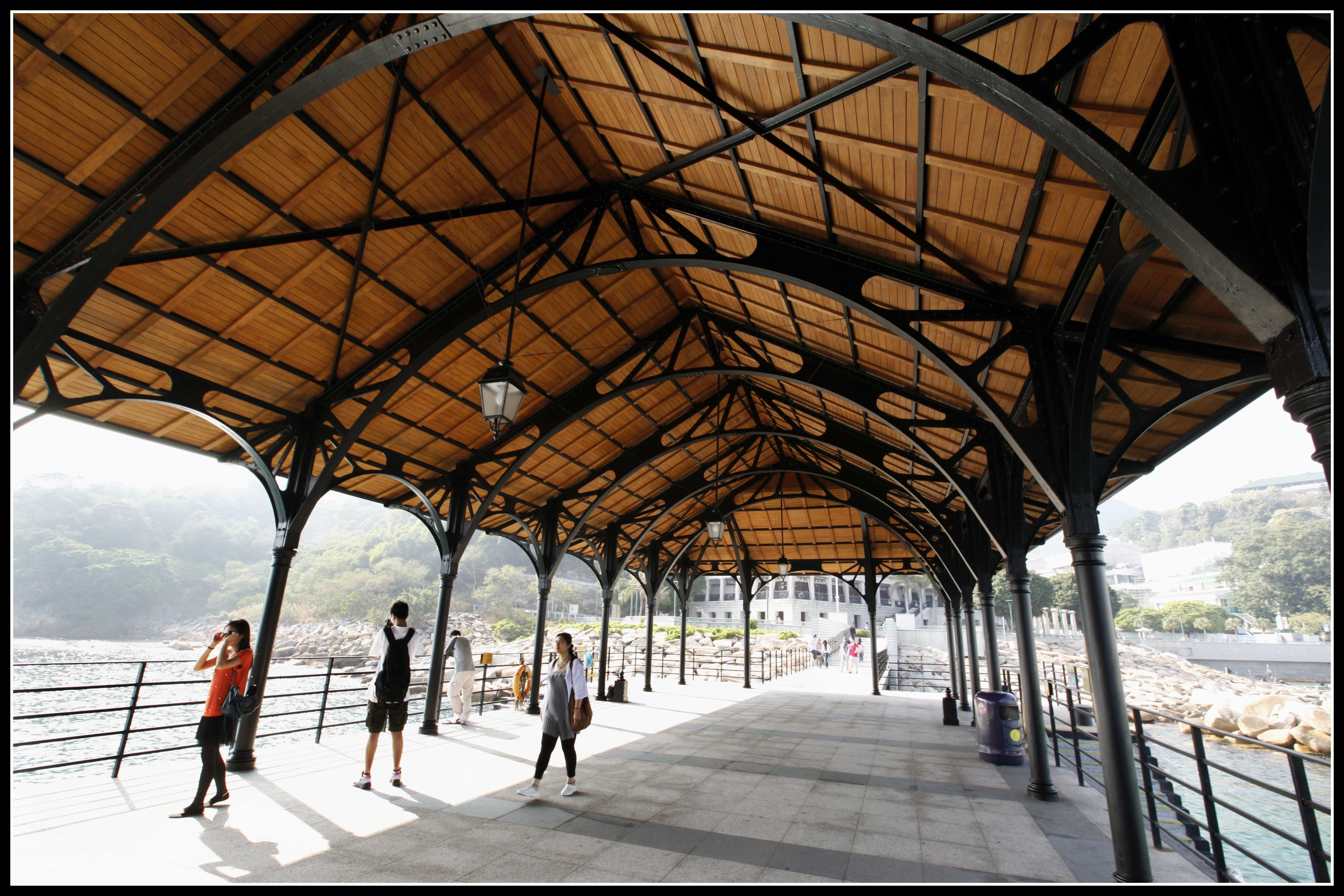 wood truss with metal roof - Google Search