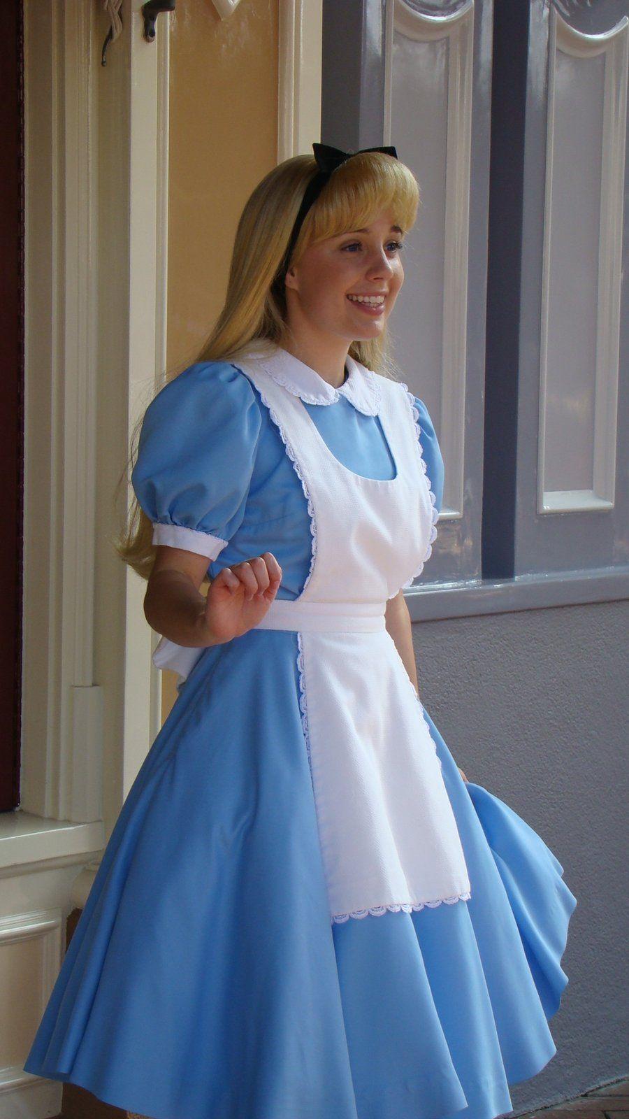 Pretty Little Alice   Disney princess dresses, Alice ...