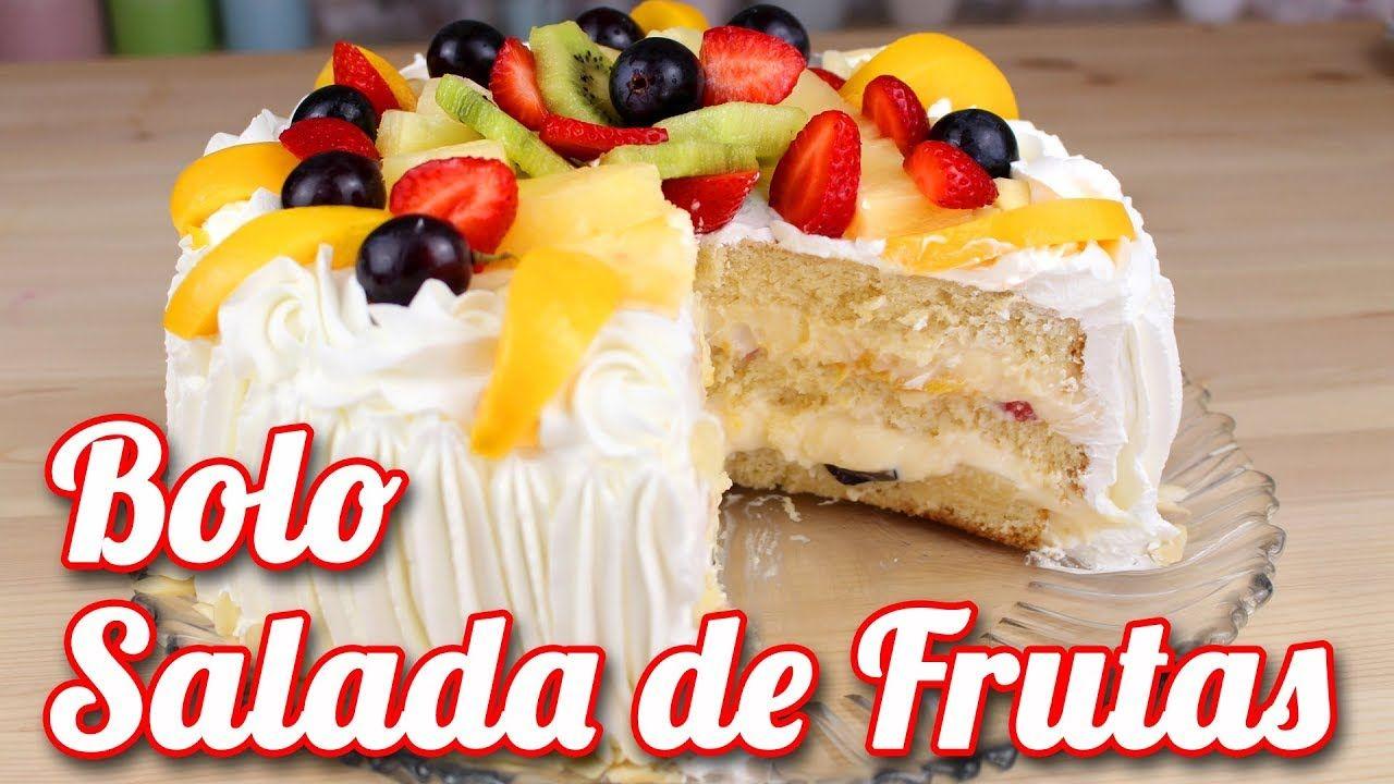 Pin De Sheila Em Bolos Bolo Decorado Com Frutas Bolo De Frutas