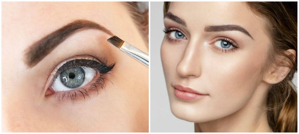 bfe9dda6dad Best Eyebrow Makeup: Architecture of eyebrows, correction with makeup # Eyebrow #Makeup #designs #women #Glamour #fashion #style #stylish #modern  #nice ...