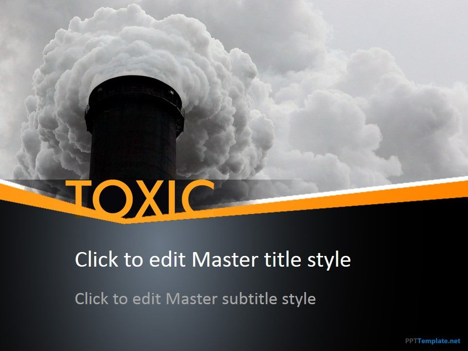 Free Toxic PPT Template is an informative theme The master slide