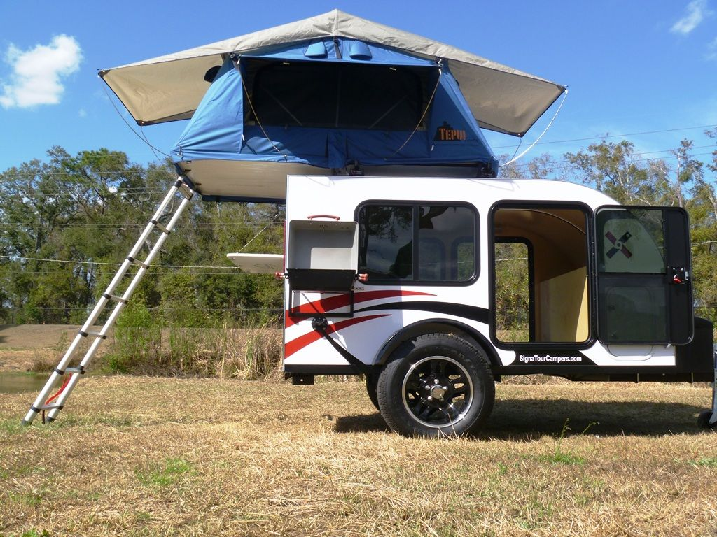 Explore Mobile Living Tepui Tent and more! & Rockledge Camper with Tepui rooftop tent. Sleeping for 4 people ...