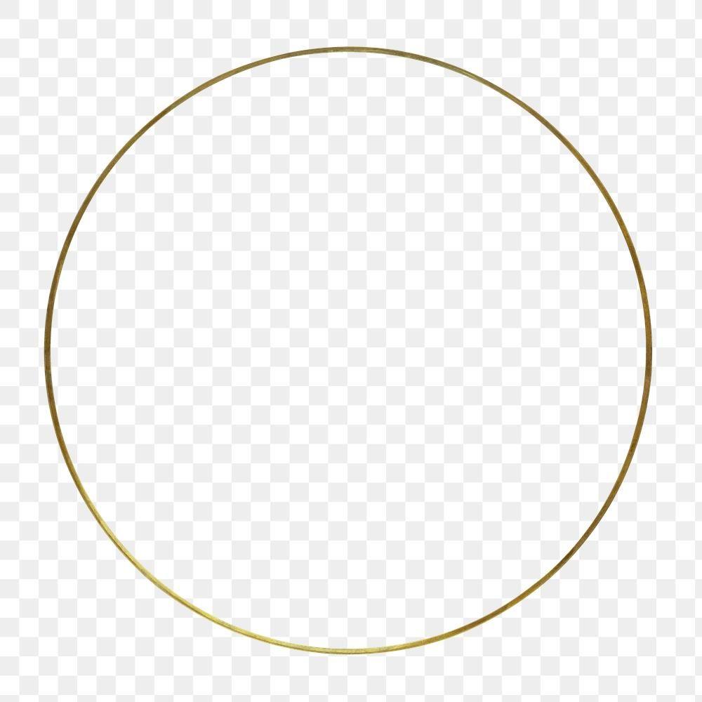 Gold Round Frame Design Element Premium Image By Rawpixel Com Jira Frame Design Gold Circle Frames Gold Logo Design
