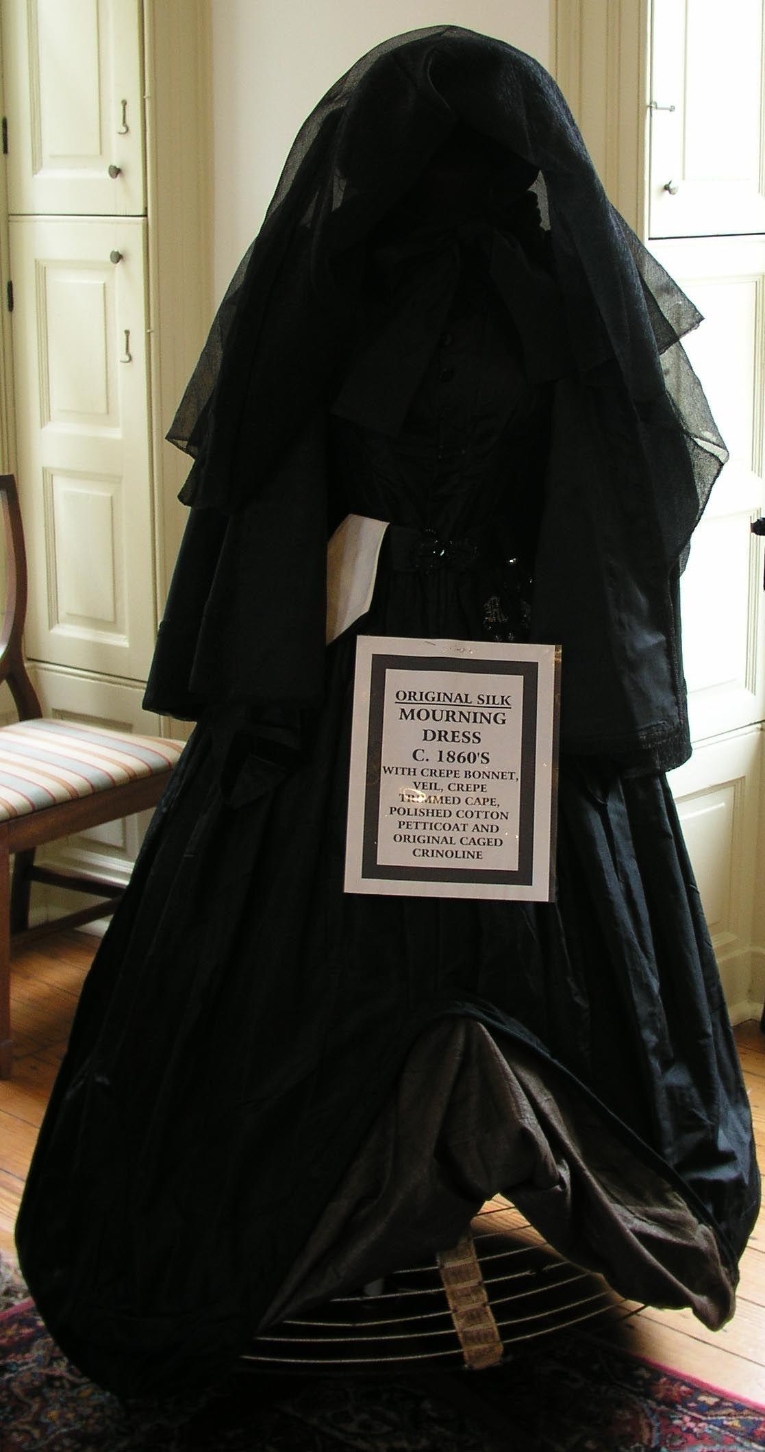 Black Funeral Veils