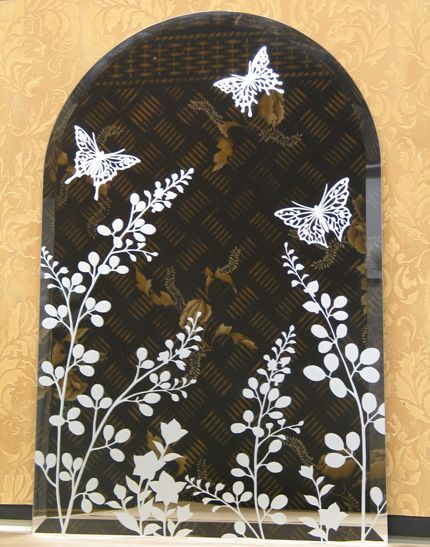 Etchlook Window Etching Paint Pattern Etched Mirror Glass Engraving Glass Etching Stencils