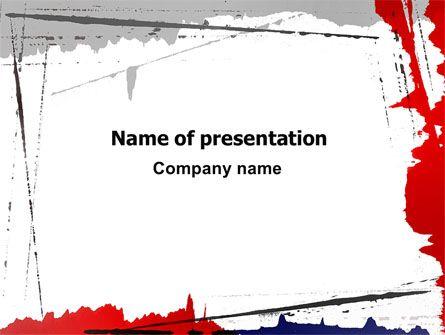 http://www.pptstar/powerpoint/template/free-blood-splatter, Modern powerpoint