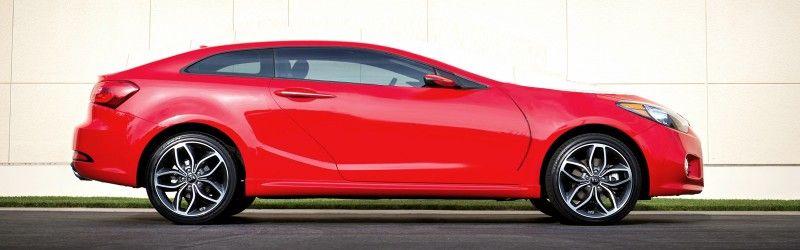 2014 Kia Forte Koup Spooling Up New Turbo Power For Slinky 2 Door Car Sports Car Classic Sports Cars