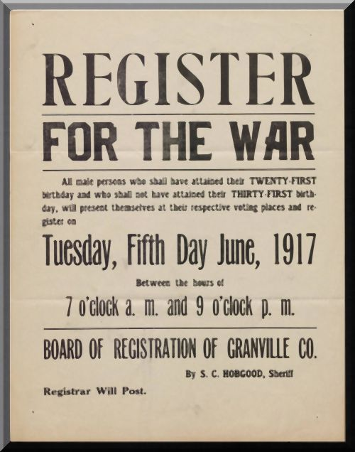 100 Years Ago 5 June 1917 U S Draft Registration Day With