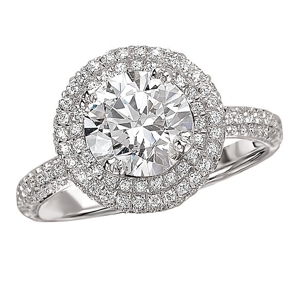 Available From The Gem Smith 801 298 0753 Business Inquiries Only Double Halo Engagement Diamond Ring Fashion Rings Calgary Jewellery Diamond Ring