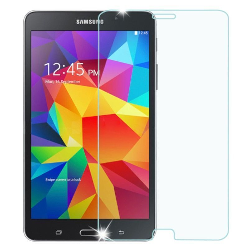 Insten Tempered Glass LCD Screen Protector Film Cover For Samsung Galaxy Tab4 7-inch
