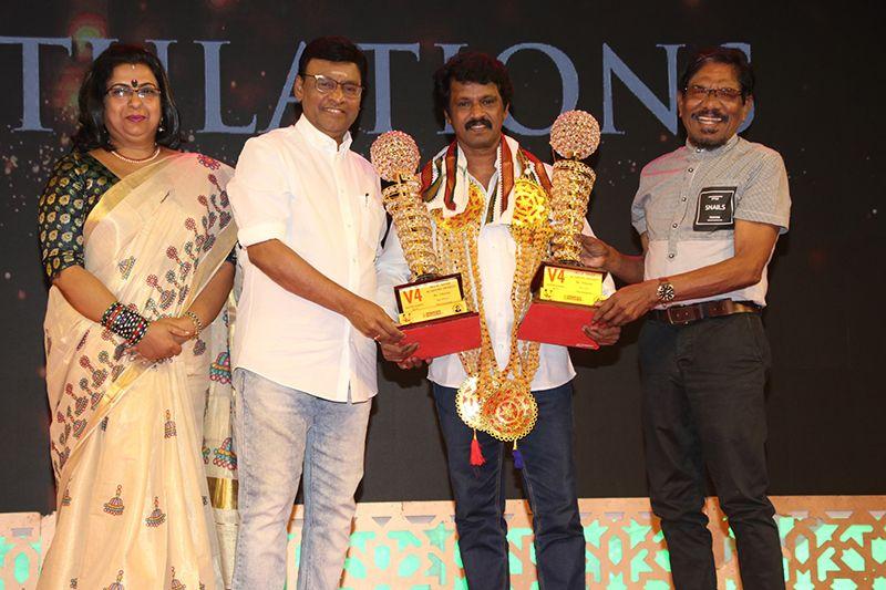 V4 எம்.ஜி.ஆர் – சிவாஜி அகாடமி 34வது திரைப்பட விருது வழங்கும் விழா!