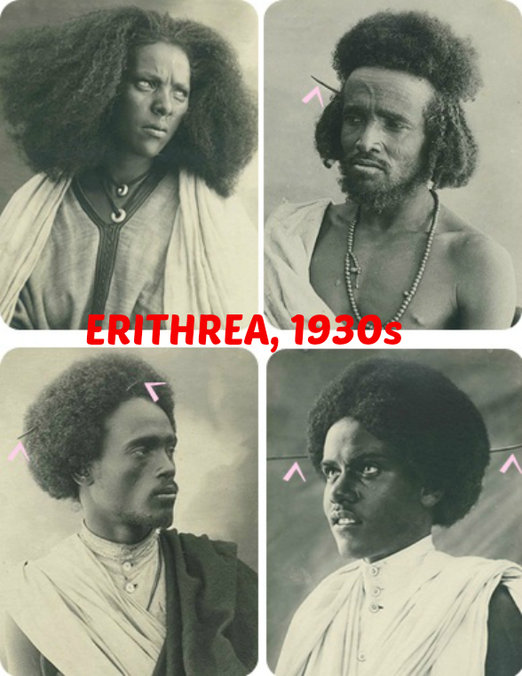 Golden Yesterhairs: Male and Female Afros in 1930s Erithrea