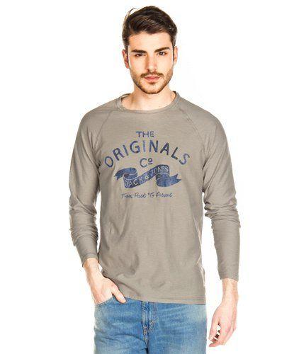 Camisetas Jack & Jones Rise Raglan Gris Vigoré en Nice & Crazy