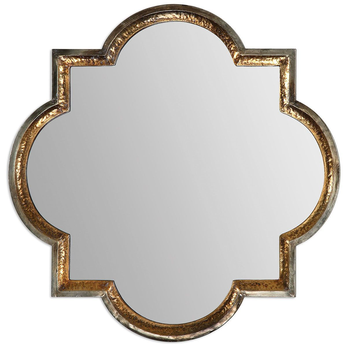 Uttermost Lourosa Gold Mirror 12862