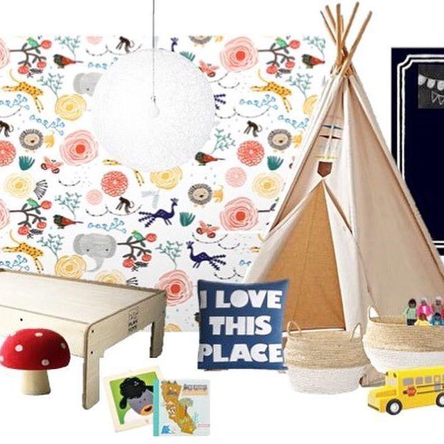 Girls Playroom with Teepee