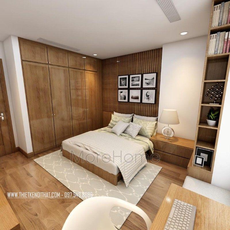 thiết kế nội thất phòng ngủ khách sạn 3 sao Cầu Giấy Thiết kế nội