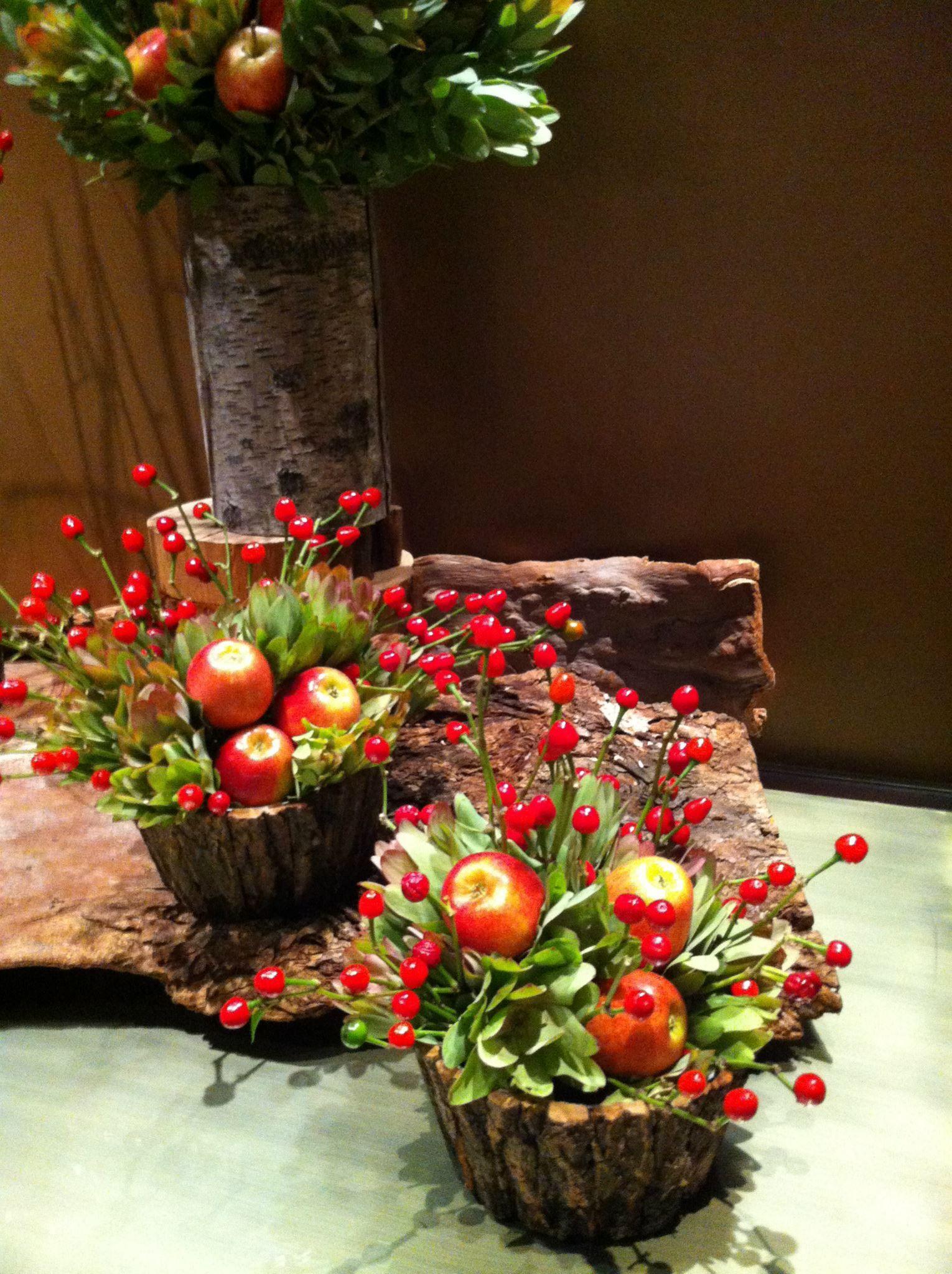 Pearsons Florist - apples, berries and bark