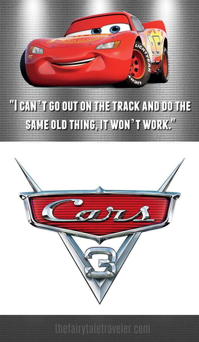 Cars 3 Quotes Inspirational Quotes for All Ages + Blu