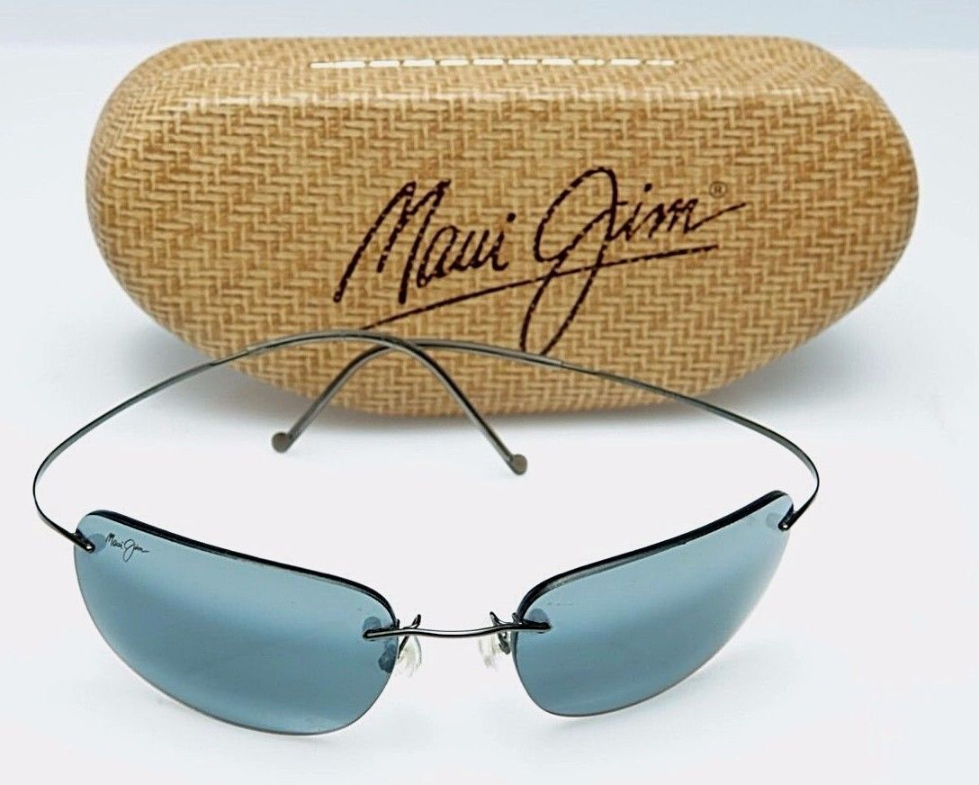 dd35bab952 Maui Jim Mens sunglasses Kapalua Polarized Titanium in perfect condition w  case