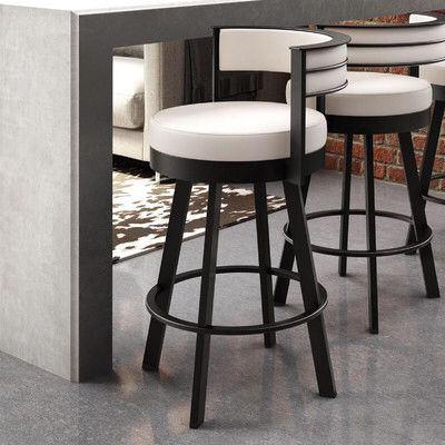 Matthews Bar & Counter Swivel Stool is part of Swivel bar stools - You'll love the Matthews Bar & Counter Swivel Stool at Wayfair  Great Deals on all Furniture products with Free Shipping on most stuff, even the big stuff