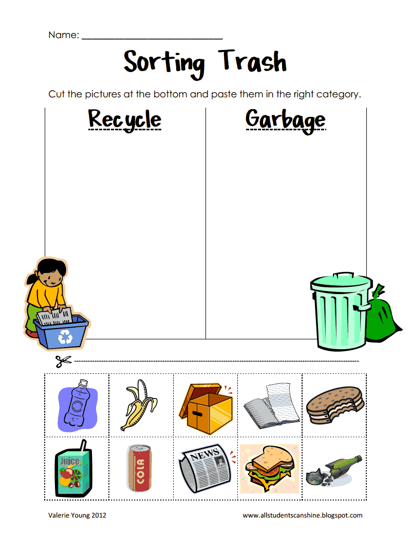 Kindergarten Science Worksheets Pdf