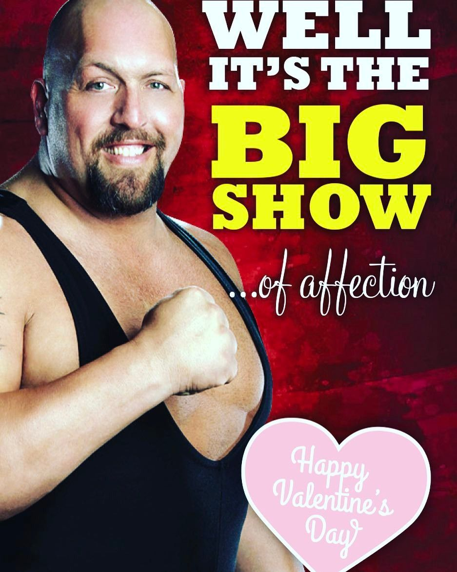 Guess Who Definitely Bought Wrestling Valentines Day Cards To Send