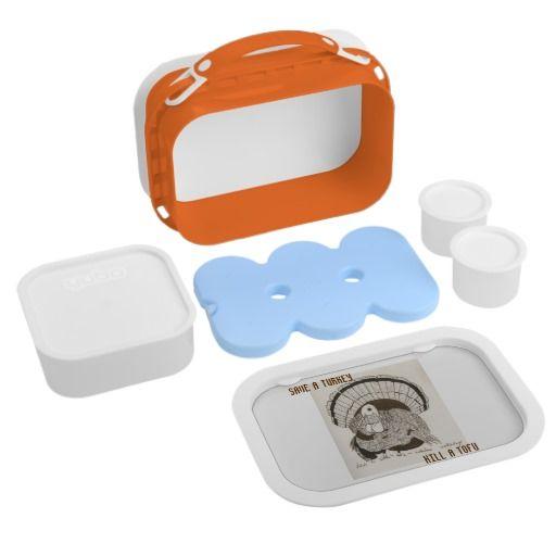 """""""Save A Turkey Kill A Tofu"""" Lunchbox"""