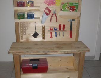 Kinder-Werkzeugbank Holz,Werkbank,Kinderspielzeug | Leuk speelgoed ...