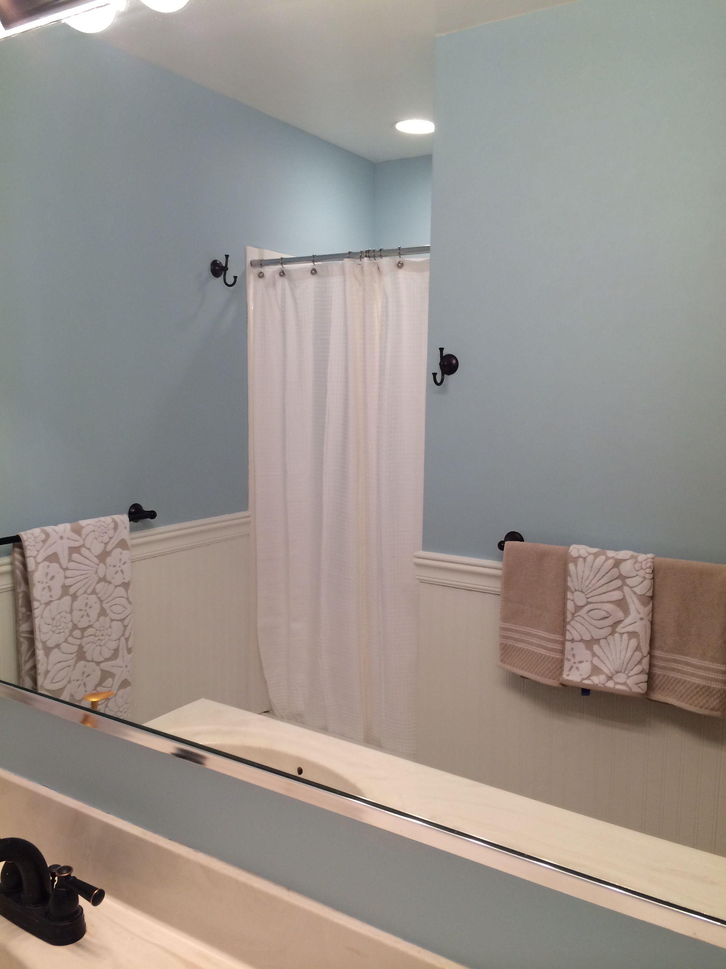 Benjamin Moore Silvery Blue Best Bathroom Colors Best Bathroom Paint Colors Bathroom Paint Colors
