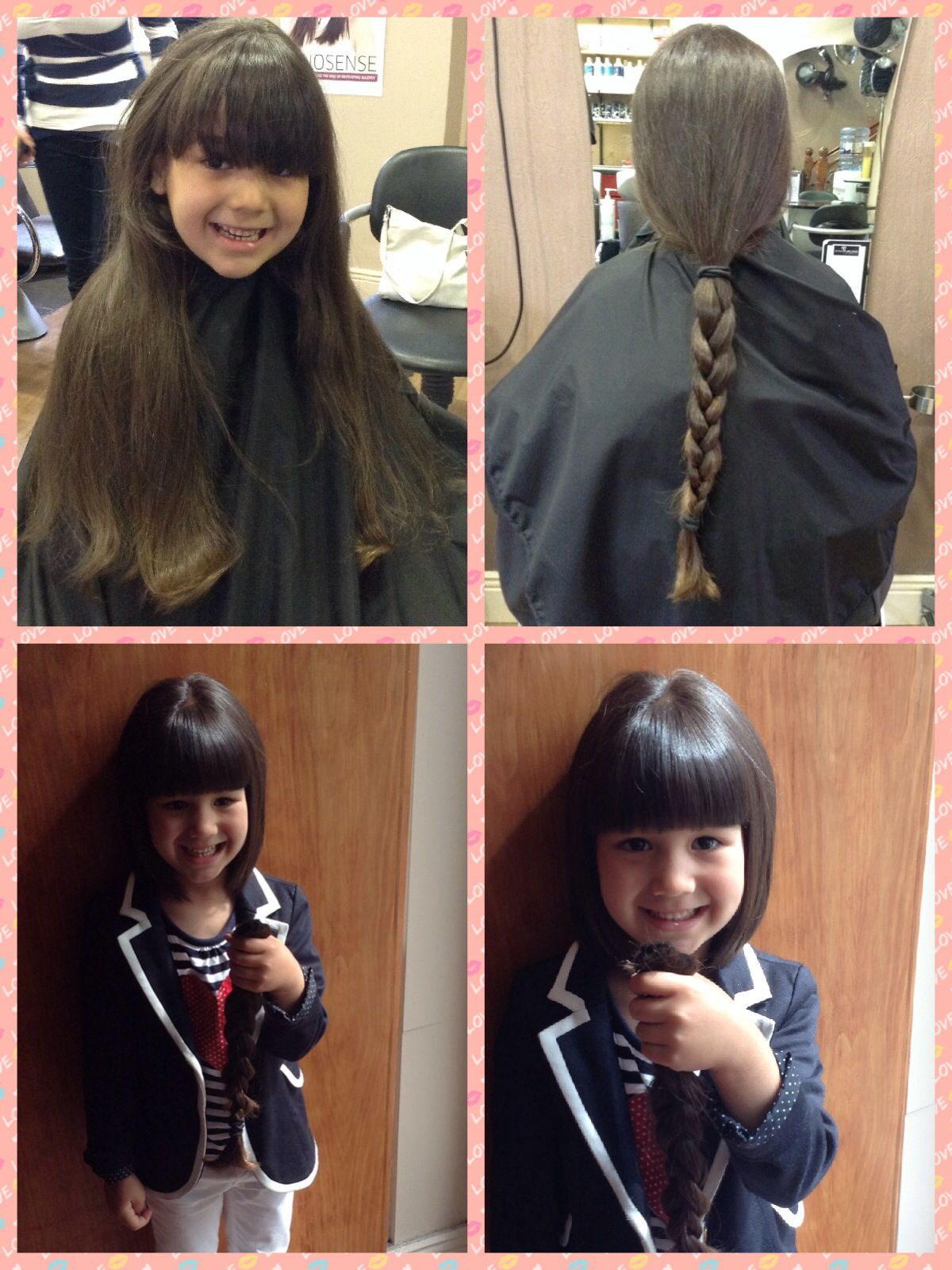 Thank You Hair Donated To Rapunzel Foundation Pinterest