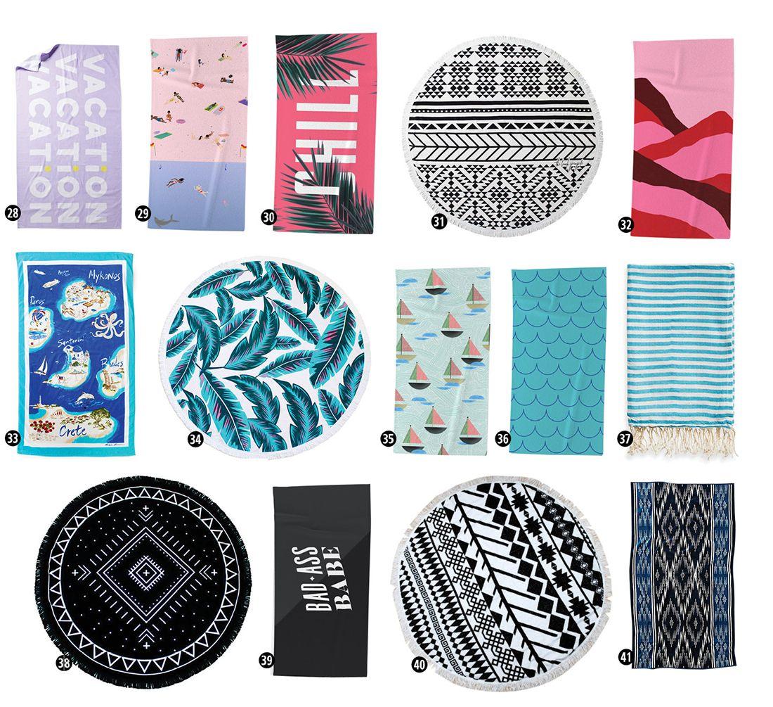 55 Best Beach Towels A Design Roundup Beach Towels Tropical