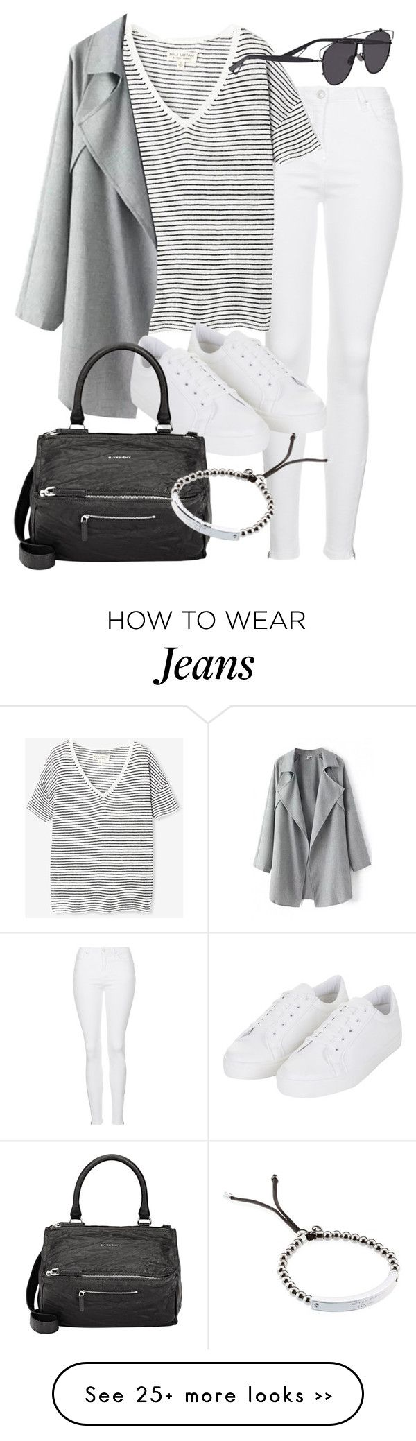 """""""Untitled #18903"""" by florencia95 on Polyvore featuring Topshop, Nili Lotan, Givenchy, Christian Dior and Michael Kors"""