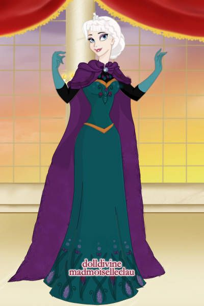 Elsa's Coronation Gown by CatOfTheCanals ~ Disney Dress Up