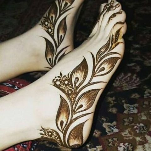 Best Henna Designs For Feet Mehndhi Pinterest Mehndi Designs