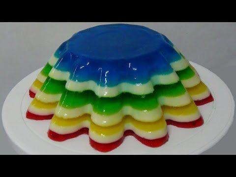 Rainbow Jell-O Jiggler Deviled Eggs for Easter!! - Jello Mold Recipe - YouTube