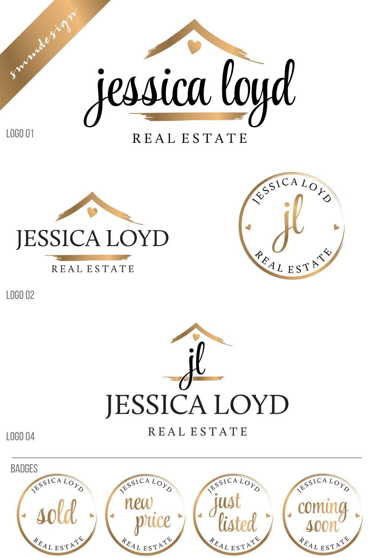 Real Estate Logo Design, Key Logo Realtor Logo, House logo