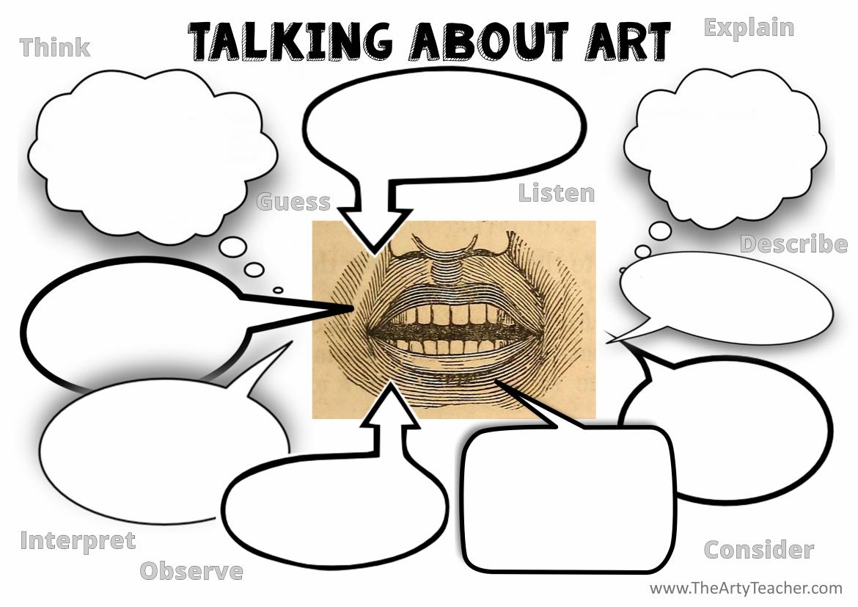Talking About Art Starter Activity